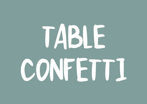 Table Confetti