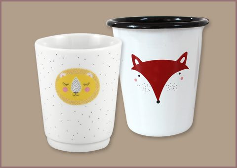 Porcelain and enamel